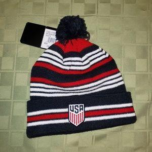 Kids size, USA Soccer Team Knit Hat